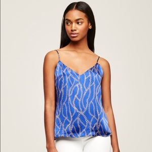 L'agence JANE Cami Royal Blue Multi / Chain Print